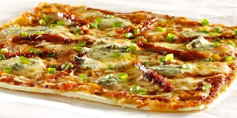 Pizza aux fromage du Québec de la Piazzetta